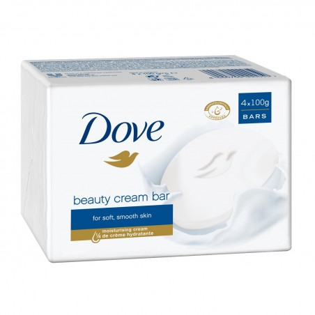 SAVON BEAUTY CREAM BAR DOVE X4