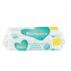 LINGETTES PAMPERS SENSITIVE...